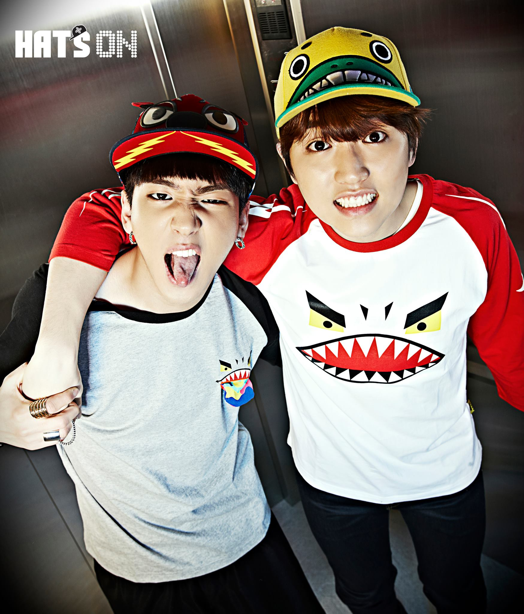 [ENDORSEMENT][1P] Sandeul and Baro for HatsOn Collection ... B1a4 Sandeul And Baro